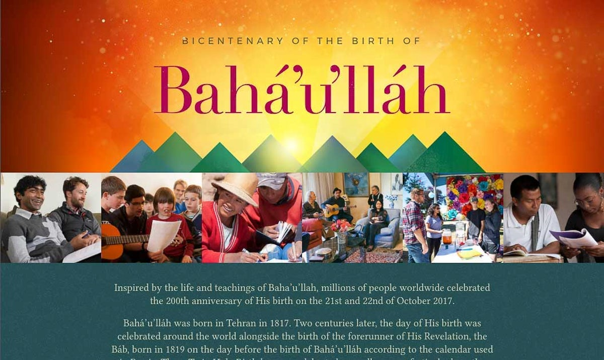 Bicentenary of the Birth of Bahá'u'lláh