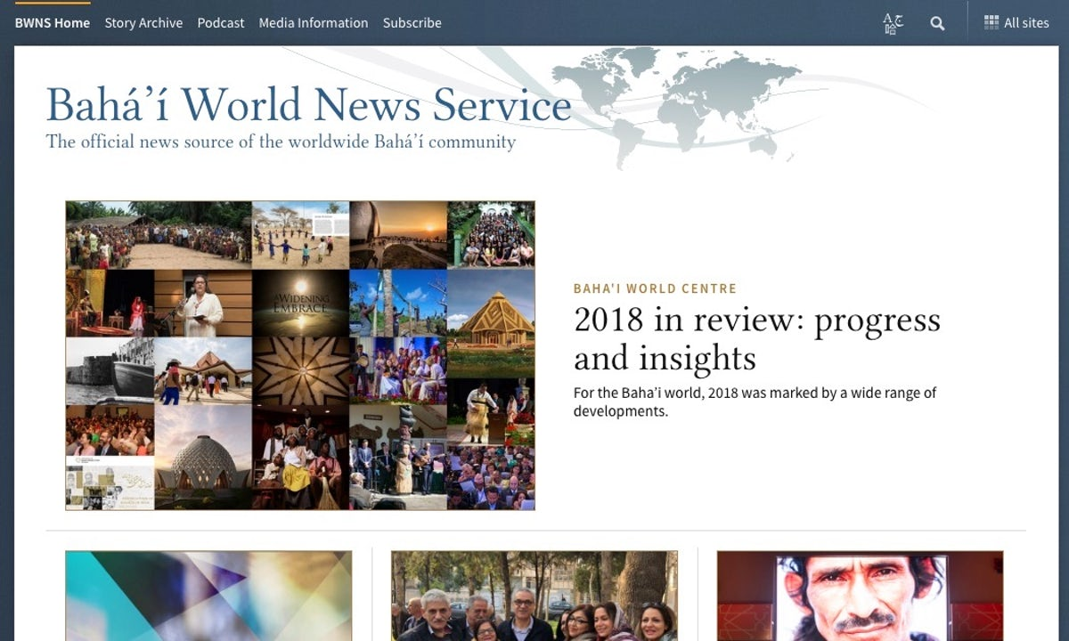 Bahá'í World News Service