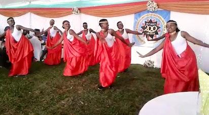 Danse traditionnelle au Rwanda