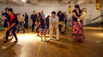Célébration de danse dans le Bronx, à New York