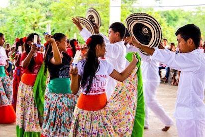 Célébration à Tuchin en Colombie
