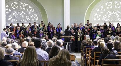 Le Festival de la Chorale Bahá'íe Australienne à la Maison d'adoration de Sydney
