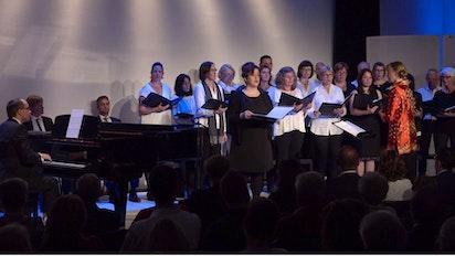 Célébration au philarmonique de St. Pölten, en Autrice
