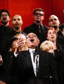Concert choral et orchestral à la Maison d'adoration bahá'íe