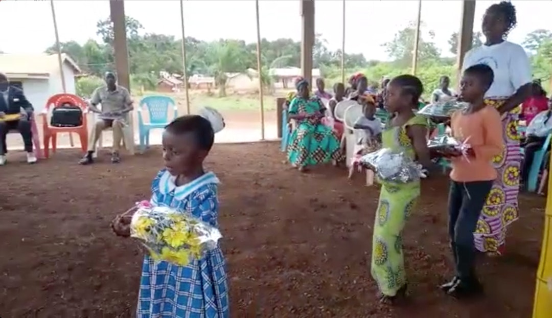 Bicentenary celebration in Mbotoro, Cameroon
