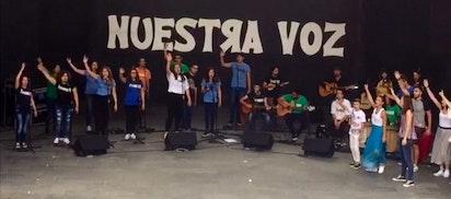 Performance musicale dans les îles Canaries