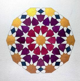 Artistes locaux à Hackney, à Londres, créent des œuvres d'art inspirées des enseignements de Bahá'u'lláh